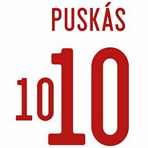 Puskás 10 (Official Printing) - 21-22 Hungary Away