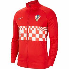 20-21 Croatia I96 Anthem Jacket - Red/White