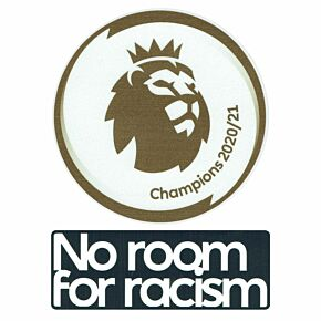 Premier League Champions 20-21 + No Room For Racism Players Patch Set