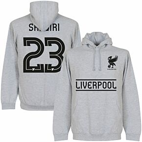 Liverpool Shaqiri 23 KIDS Team Hoodie - Grey