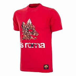 Copa AS Roma Supporter T-Shirt - Red