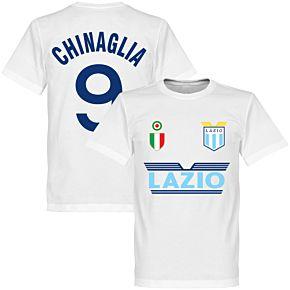 Lazio Chinaglia 9 Team Tee - White
