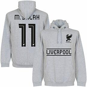 Liverpool M. Salah 11 Team Hoodie - Grey
