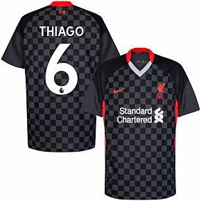 20-21 Liverpool 3rd Shirt + Thiago 6