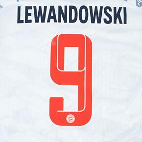 Lewandowski 9 (Official Printing) 21-22 Bayern Munich 3rd