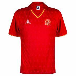 Le Coq Sportif Spain 1988-1990 Home Shirt - NEW Condition (Excellent) - Size L