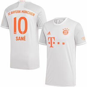 20-21 Bayern Munich Away Shirt + Sané 10 (Official Printing)