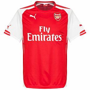 14-15 Arsenal Home Shirt - Kids + Wilshere 10