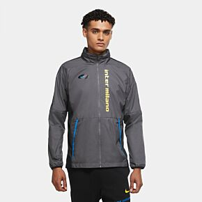 20-21 Inter Milan AWF Lite UCL Jacket - Grey