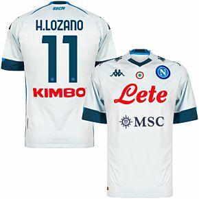 20-21 Napoli Away Shirt + H.Lozano 11 (Official Printing)