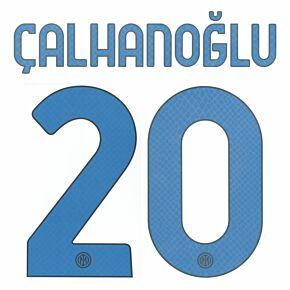 Çalhanoğlu 20 (Official Printing) - 21-22 Inter Milan Away
