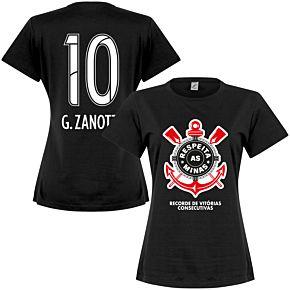Corinthians G. Zanotti 10 Minas Womens Tee - Black