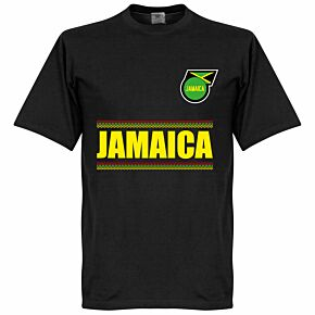 Jamaica Team Tee - Black