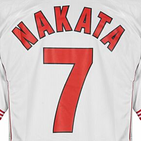 Nakata 7 - 99-00 Perugia Away Official Name and Number Transfer