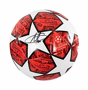 Eden Hazard Signed 2018-2019 UEFA Champions League Football
