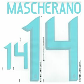 Mascherano 14 (Official Printing) - 19-20 Argentina Away