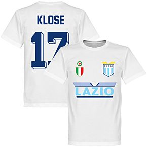 Lazio Klose 17 Team Tee - White