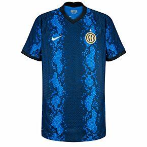 21-22 Inter Milan  Dri-Fit ADV Match Home Shirt - No Sponsor