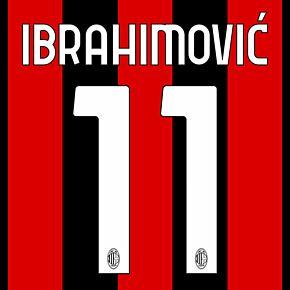 Ibrahimović 11 - 20-21 AC Milan Home