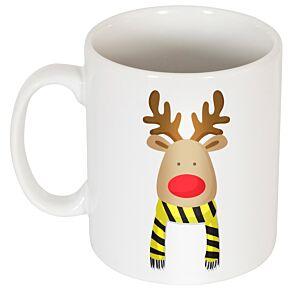 Reindeer Supporters Mug - Yellow/Black