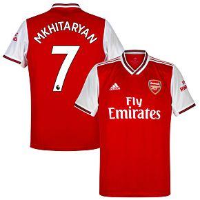 adidas Arsenal Home Mkhitaryan 7 Jersey 2019-2020 (Official Premier League Printing)