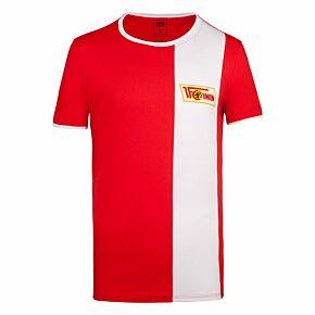 Union Berlin Retro T-Shirt - Red/White