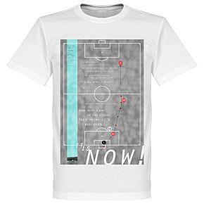 Pennarello Geoff Hurst 1966 Classic Goal Tee - White