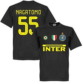 Inter Nagatomo 55 Team Tee - Black