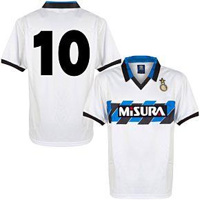 1990 Inter Milan Away Retro Shirt + No.10