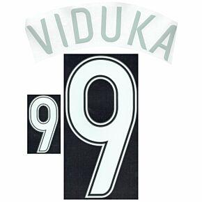 Viduka 9 - 06-07 Australia Away Name and Number Transfer