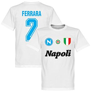 Napoli Ferrara 2 Team Tee - White