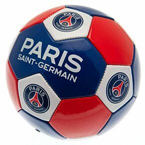 PSG Multi Crest Football - Red/White/Blue (Size 3)