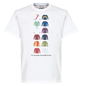 The Greatest Derbies Tee - White