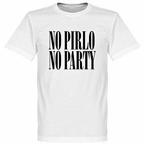 No Pirlo No Party KIDS Tee - White