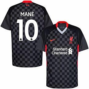20-21 Liverpool 3rd Shirt + Mane 10