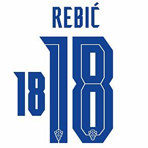 Rebić 18 (Official Printing) - 20-21 Croatia Home