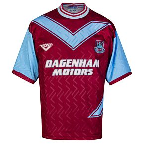 Pony West Ham 1993-1995 Home Shirt - USED Condition (Great) - Size XL