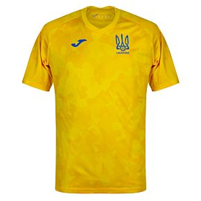 20-21 Ukraine Training Shirt - Yellow