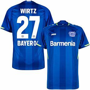 21-22 Bayer Leverkusen 3rd Shirt + Wirtz 27 (Official Printing)