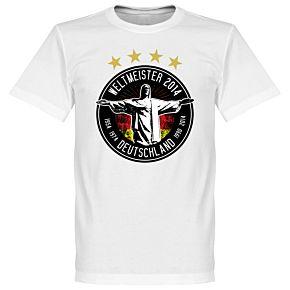 Germany 2014 World Cup Winners Tee - White