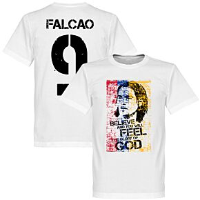 Colombia Falcao Tee - White