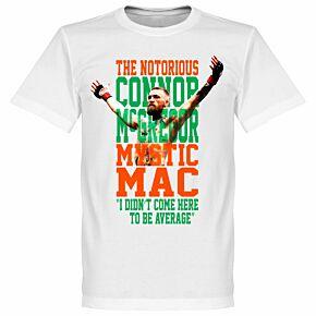 Connor McGregor 'Mystic Mac' Tee - White