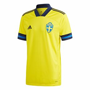 adidas Sweden Home Shirt 2020-2021