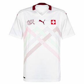 20-21 Switzerland Away Shirt