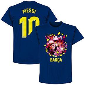 Barcelona Messi 10 Gaudi Photo Tee - Ultra