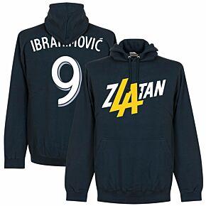 Zlatan Ibrahimovic 9 LA Hoodie - Navy