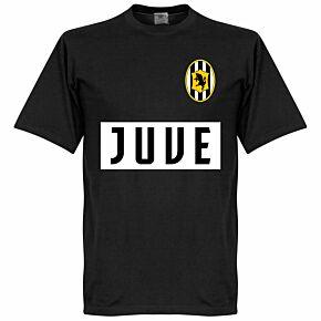 Juve Team Tee - Black