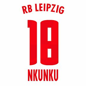 Nkunku 18 (Official Printing) - 20-21 RB Leipzig Home