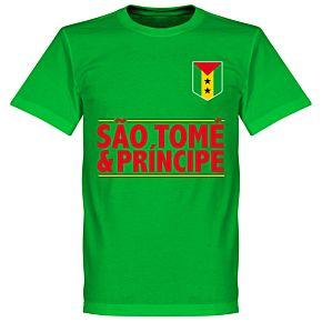 São Tomé and Príncipe TeamT-Shirt - Green