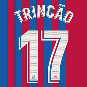 Trincão 17 (Official Printing) - 21-22 Barcelona Home